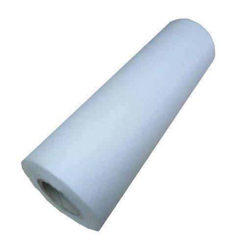 Aquagart Filtervlies Vlies-Rolle 200m x 50cm I Hydrophiler Filterstoff in Profiqualität weiß I Vlies wasserdurchlässig für Gartenbedarf oder Aquarium I Vliesfilter hervorragende Filterleistung