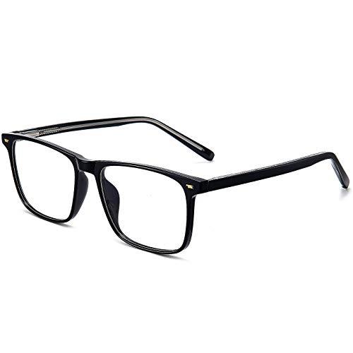 ANRRI Blue Light Blocking Glasses Nerd Eyeglasses Frame Anti Eyestrain Computer Gaming Glasses
