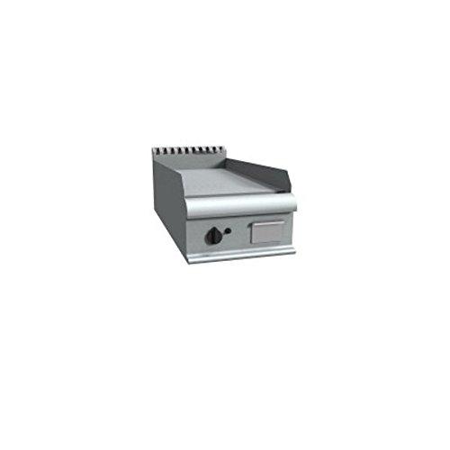 Fry Top électrique à meuler Plaque de cuisson lisse – Dim. CM 40 x 90 x 23H