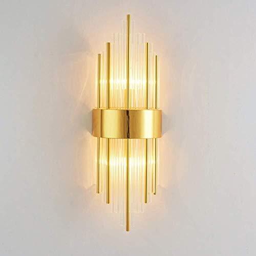 Plafondlamp Wandlamp RVS Crystal muur Lights Modern Minimalistisch Interieur Personality And Creative wandlamp