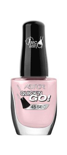 Astor Quick'n Go Nagellack, Farbe 376, 1er Pack (1 x 8 ml)