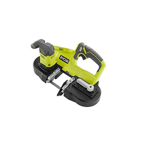 Ryobi 18-Volt ONE+ Cordless 2.5 in. Portable Band Saw (Tool Only) P590, (Bulk Packaged, Non-Retail...