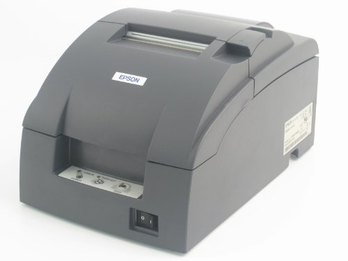 Epson TM-U220B imprimante de reçus de Cuisine en Noir avec Interface Ethernet