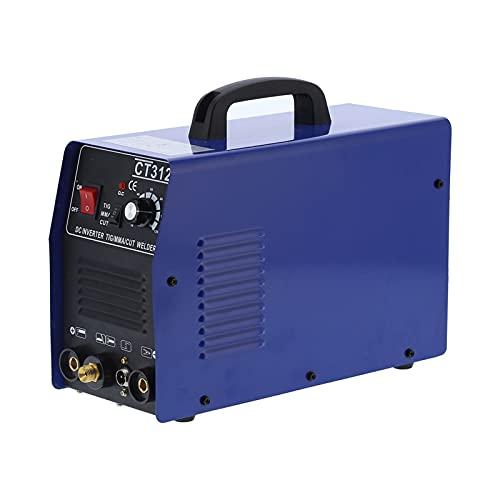 Inverter DC Plasma Cutter 3 en 1 Soldadora de Plasma de Aire Portátil Máquina de Corte CT312 Kit de Cortador de Plasma(EU Plug 220V)