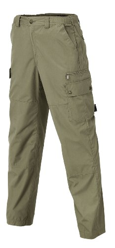 Pinewood Herren Outdoorhose Wildmark Hose, Lightkhaki, 52, 9085-224