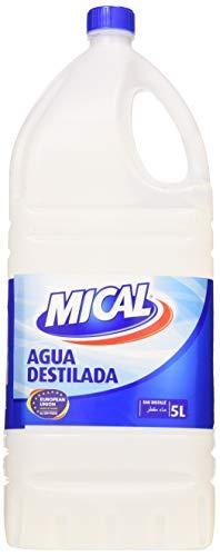 Mical - Agua destilada - Agua desionizada - 5 l (Automóvil)