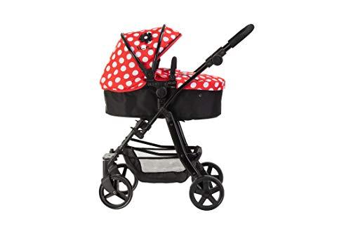 Silver Cross Pioneer 5-in-1-poppenwagen - stof Limited Edition Red Polka Dot. Voor kinderen van 4 tot 8 jaar.