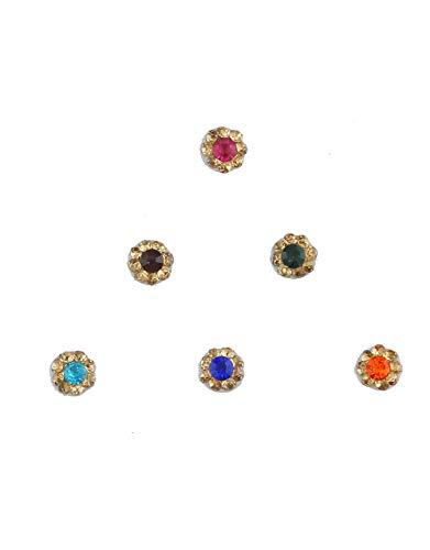 Anuradha Art Jewellery Jewellery Multi Colour Bindi Pokets For Ladies...