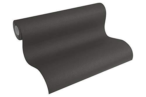 A.S. Création Papier peint intissé Spot noir 10,05 m x 0,53 m 230942