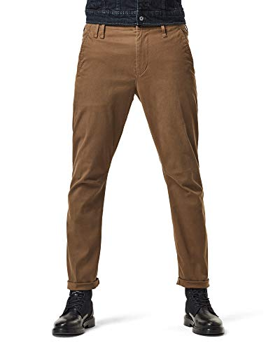 G-STAR RAW Men's Vetar Slim Casual Pants, Wild Olive C072-1866, 31W/ 32L