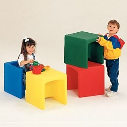 Preston - Blue Cube (For Chair Cube )