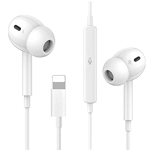 Earphones for iPhone, In-ear Earbuds Wired Headphones with HiFi Stereo...