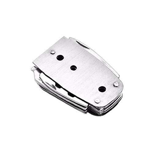Multifunktions-faltendes Messer Tragbarer 8 in 1 Messer Opener Schere Nagel Kommissionierung Keychain Camping Kombinations-Werkzeug-Edelstahl Outdoor-Camping-Anti Körper Werkzeuge