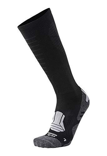 XAED - Chaussettes de course pour homme, taille 39/41, Noir