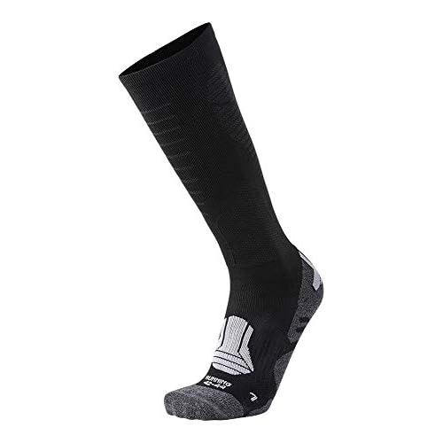 XAED, calzini da corsa, da uomo, colore nero, taglia 39/41
