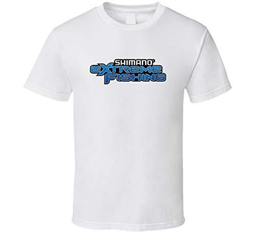 Shimano Extreme - Camiseta de señuelos de pesca, regalo para el día del padre, color blanco