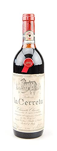 Wein 1981 Chianti Classico Riserva Fattoria la Cerreta