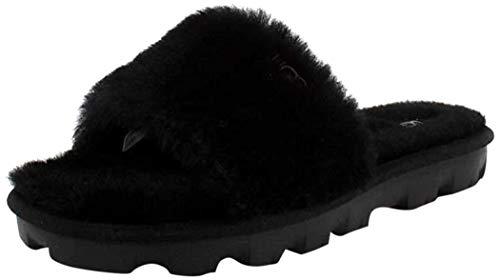UGG Women's Cozette Slipper, Black, 7