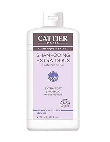Cattier Shampooing Extra-Doux Usage Quotidien 1 L BIO