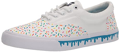 Sperry Men's Striper II CVO Nautical Sneaker, Sprinkles, 7