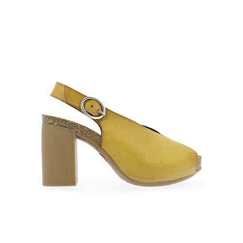 Yokono dames Triana 064 Vaquetilla Peeptoe sandalen