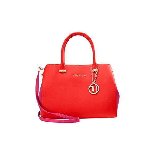 Trussardi Jeans 75b00011-1y090122, Tasche für Damen, rot und rosa zweifarbig