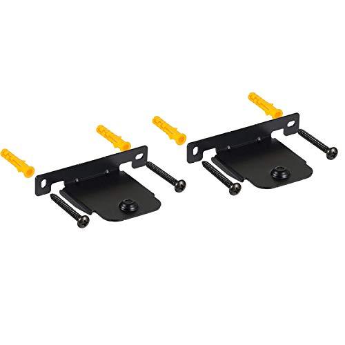 YUHUA ELE Soporte de Pared para LG SH4D Barra de Sonido, 2 Paquetes Durable Metal Soportes para Altavoces - Altavoz Home Cinema Equipos de Audio Accesorios
