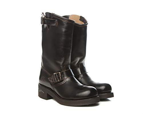 Sendra Boots 2944 Steel Hurricane Bikerstiefel, Braun, Braun - braun - Größe: 37 EU