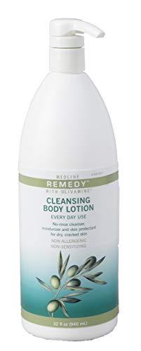 Medline - MSC094320 Remedy Olivamine Cleansing Body Lotion, 12 Count