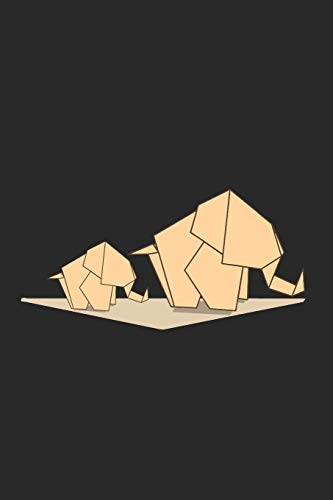 Elefant Origami Polygon Geometrisch Art Natur Notizbuch: Elefant Origami Polygon Geometrisch Art Natur als Geschenkidee als Planer Tagebuch Notizheft oder Notizblock 6x9 DIN A5 120 Seiten   Kariert