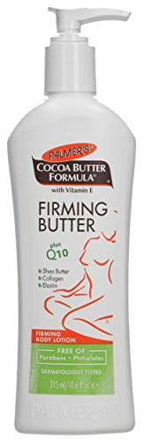 Palmer's Cocoa Butter Formula with Vitamin E + Q10 Firming Butter Body Lotion, 10.6 Ounces