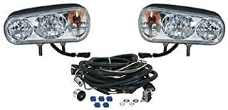 The ROP Shop Universal Halogen HEADLAMP Light KIT for Boss Curtis Western Blizzard Snowdogg