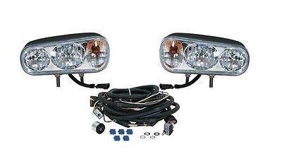 Read About The ROP Shop Universal Halogen HEADLAMP Light KIT for Boss Curtis Western Blizzard Snowdo...