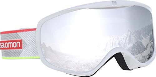 Salomon, Sense, Máscara esquí mujer, Blanco White