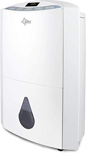 SUNTEC-luchtontvochtiger Dryfix 20 Design – voor ruimten tot 150 m³ (63 m²) | ontvochtiger met 20 l/dag ontvochtiging | ontvochtiger elektrisch incl. luchtreinigende functie + mobiele wasdroging