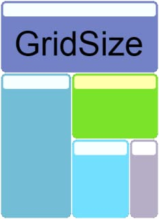 Grid Size File Manager
