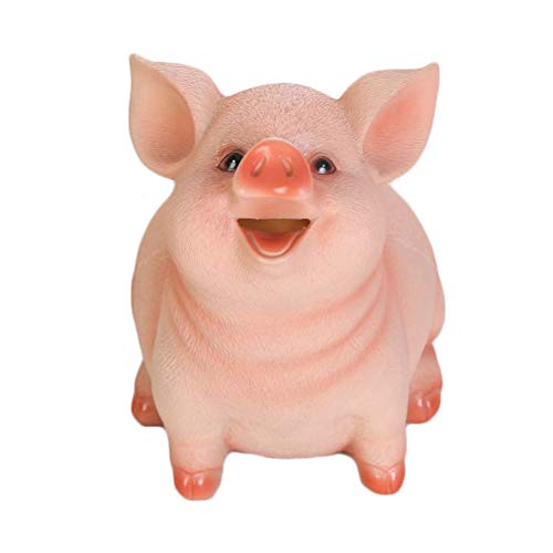 Pink Vosarea Lucky Pig Piggy Bank Creative Piggy Coin Bank Cute Cartoon Money Holder Saving Pot Money Box