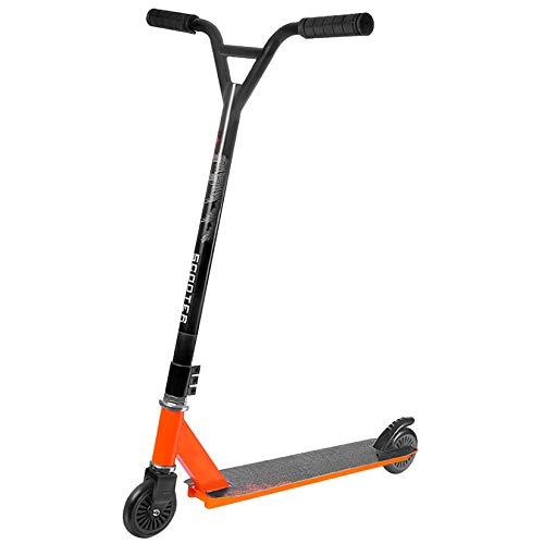 WYJJ Scooters de Acrobacias para Principiantes: Patinete de Truco con Abrazadera Triple de aleación de Aluminio, Ruedas de 100 mm, Patinete Deportivo de Estilo Libre con Patada en la Calle