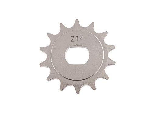 Antriebskettenrad, Ritzel - KR51/2, S51, S70, SR50, SR80 - 14Z - 14Zähne (1.Qualität)