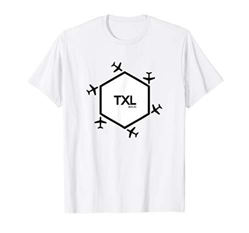 Flughafen Berlin Tegel Airport TXL T-Shirt