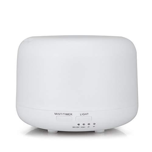 Regalos para el hogar humidificador atomización ultrasónica MUJI Nocturna humidificador de Aire el Aroma de Madera de humidificación,Blanco