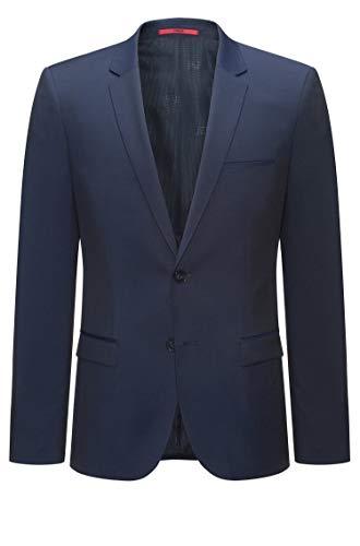 HUGO Herren Alisters Anzugjacke, Blau (Dark Blue 401), 102