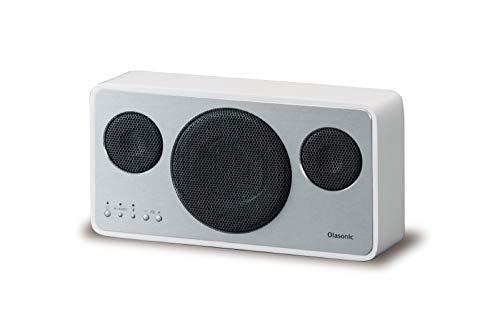 Olasonic IA-BT7 W ハイレゾ対応 Bluetoothスピーカー シルクホワイト