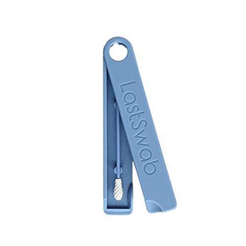 LastSwab Herbruikbaar Wattenstaafje voor Oren – Walvisblauw – Milieuvriendelijk Wattenstokje – Wattenstaafjes