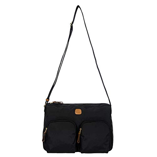 Messengertasche X-Bag, Einheitsgröße.Schwarz
