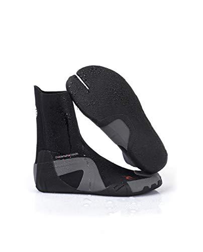 Rip Curl Dawn Patrol 3MM Split Toe Neoprenanzug Stiefel Schuhe - Schwarz - Unisex - Leichtes Schiebesystem - SOS
