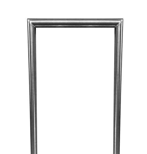Rammschutz-Bügel aus Edelstahl von Namor | Anfahrschutz | Poller/Absperrbügel made in Germany (100 x 60 cm (Länge x Höhe), zum einbetonieren)
