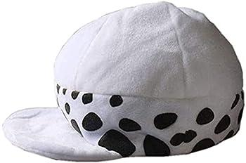 Anime Trafalgar Law 2nd One Piece Plush Hat Cosplay Cap Accessories