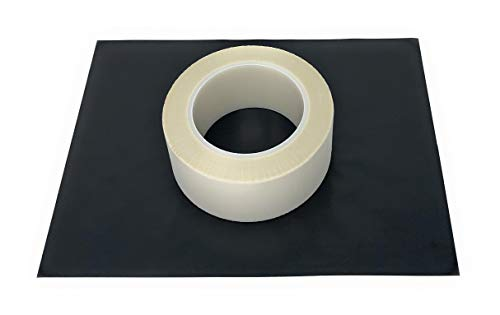 APT, Glasdoek Tape met een High-Temp Thermo-Setting Silicone Lijm. Hoge temperatuur maskeren voor plasma, thermische en metallisatie toepassingen 2