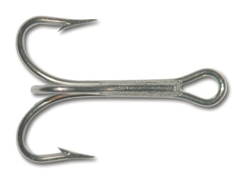 Mustad 3551 Ganchos clássicos de pesca com força padrão agudos | Equipamento para pesca | Vem em bronze, níquel, ouro, vermelho loiro, [Tamanho 4, pacote com 25], Duratin
